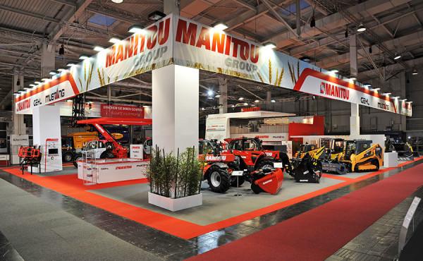 MANITOU – Salon AGRITECHNICA 2013