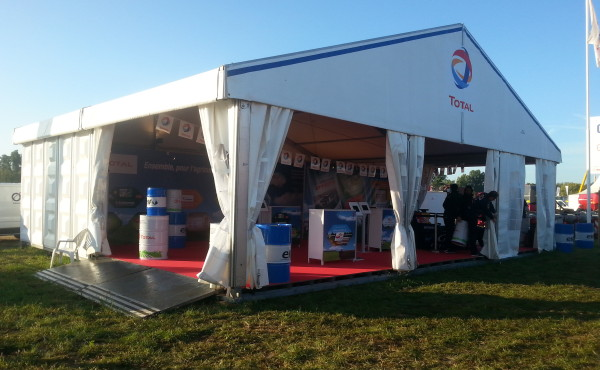 Stand TOTAL – INNOV'AGRI