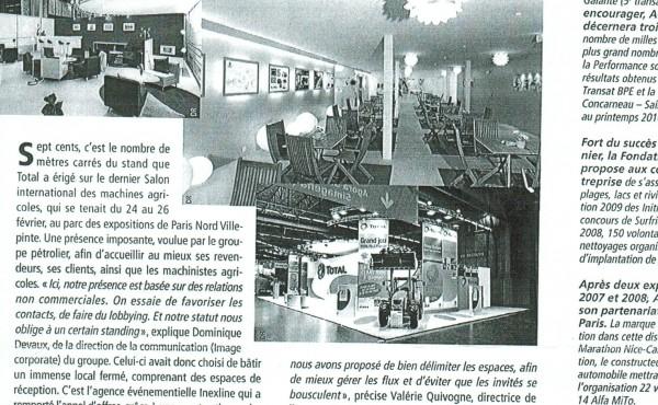 Inexline dans le magazine L'Événementiel n°179