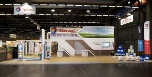 SIMA 2011 - Stand Total - Sobriété et design2
