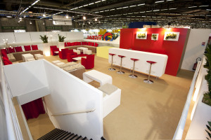 SIMA 2011 - Total - Le salon VIP